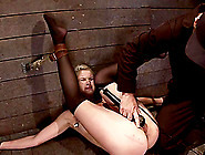 Natasha Lyn Gets Toyed And Dominated In Bondage Video