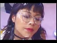 Schoolgirl Mitsu Takes 57 Facials In 8 Mins!