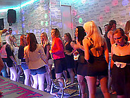 Party Girls Fool Around With The Male Strippers In The Club