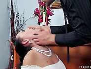 Beautiful Bride Has To Get Fucked Before She Gets Married,  Becau