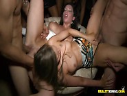 Rina Ryder And Other Party Girls Get Boned Hard