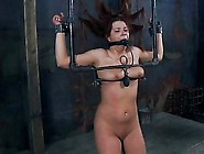 Tied Up Beauty Waits With Anticipation Of Her Next Torture