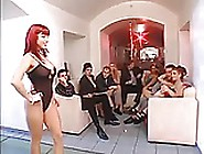Big Boobs Catwalk Turns Into An Orgy