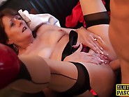 Mature Beauty Gets A Hard Cock In Her Pussy And Mouth