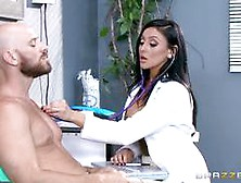 Big Titted Doctor Audrey Bitoni Treats A Big D...