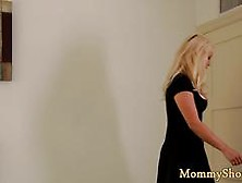 Busty Lesbian Milf Scissoring With Stepteen