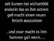 Wichser666 - Neuer Fetisch