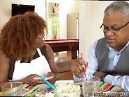 Amelias Mom And Crony's Daughter Scissor Squirting Black Co