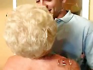 Horny Granny Wife Nailed By Young Stud