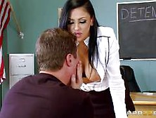 Detention And Dick For Sensational Teacher Audrey Bitoni