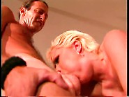 Blondie Sweety Gets Poked And Licks