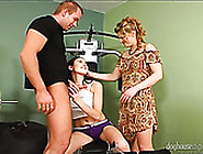 Skilled Mommy Gives Steamy Oral Lesson To Her Young Girlie