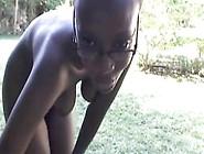 Black Teen From Blackscrush. Com Shows Pussy Outside