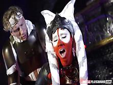 Star Wars Underworld Costume Parody Hardcore With Red Skinned Ba