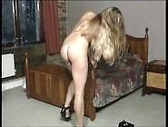 870-1 Agnis Sabine Strips Before Sex