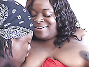 Ebony Bbw Mo Azz Sucks A Tasty Black Dick For Cock Juice