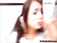 Amateur Teen Blowjob Deepthroat On Webcam