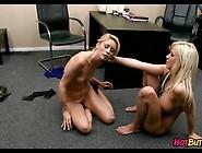 Blonde Lesbians At Work. Wmv