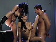 Kaylani Lei And Alektra Blue Threesome Fuck