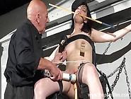 Enslaved Honesty Cabellero Nipple Clamped