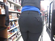Thyck Big Phat Booty Black Slacks