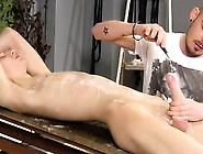 Hairless Bondage Gay Porn Adam Is A Real Pro When It Comes T