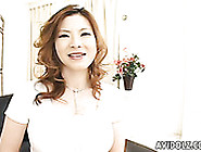 Bosomy Milfie Housewife From Japan Undresses And Flashes Her Hai