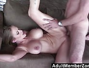 Big Titted Babe Riding Like A Cowgirl