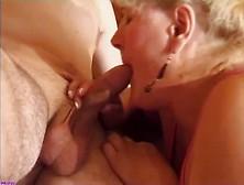 Granny Sucking A Shitty Cock