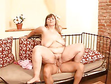 Lovely Big Saggy Tits On This Woman
