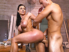 Milf In Heats Kendra Lust Bends For Man's Heavy Dick In Hope For