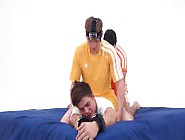 Tommy The Ticklish Kiwi Gets Tied And Tickled (First Tickle Shoo