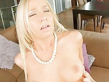 Slender Blonde Hottie Kiara Lord Gets Her Pinkish Pussy Fucked A