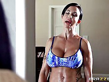 Fitness Milf With Big Boobs Loves Her Daughter's New Boyfri