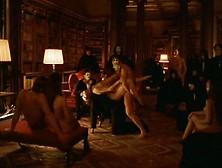 Orgy scene from eyes wide shut