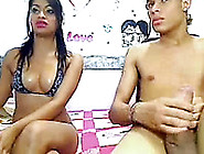 Big Mouth Hotti Takes Cock In Her Sexy Mouth And Jerks It Off