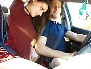 Sex Road Trip Hot Girlfriend,  Pulled Over By Police Car - Www. Wo