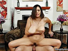 Sexy Milf Raylenne Sucks A Huge Dick And Gets Pummeled