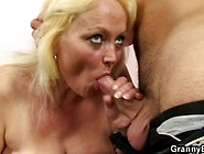 Granny Seduces Young Boy To Fuck
