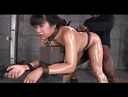 Asian Mia Li Fucked While Bent Over In Bondage