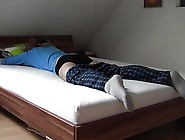 Humping In Blue Pajamas