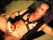 Kinky Stud Takes A Hard Prick Up His Ass And A Hot Load In His M
