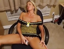 Wife Masturbates In Front Of A Man