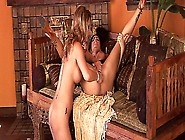 Two Smoking Hot Lesbian Babes Seducing Each Other