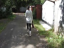 Mature Back Alley Piss