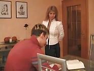 Hot German Mom Teaches Son