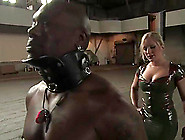 Muscular Black Guy Gets Dominated By Hot Dia Zerva