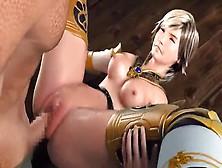 Hot 3D Anime Warrior Loves To Fuck!