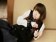 Irresistible Japanese Teen With Lovely Boobs Gets Used By H