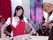 Extreme Hot German Lederhosen Bukkake Gangbang Party Orgy With W